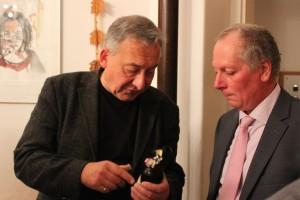 Gerhard im Gespräch mit Gerry (Philosophische Betrachtung über Bier)