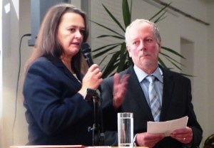 Gerhard mit Sabina Naber