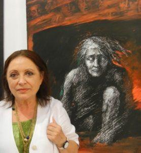 Eva Meloun mit Kassandra_2