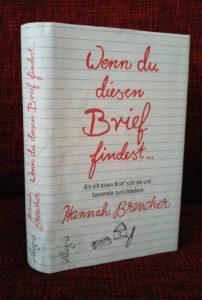 Wenn du diesen Brief findest - von Hannah Brecher